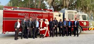 Santa at Women Shelters